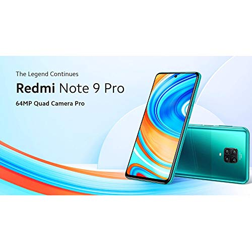 Xiaomi Redmi Note 9 Pro 64gb 6g Ram Versao Global Verde