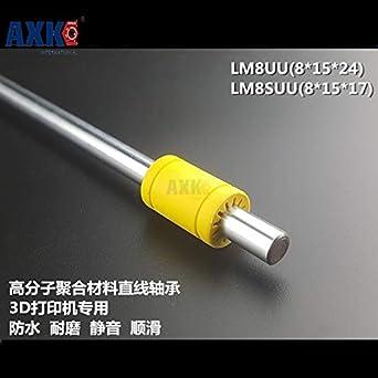 Ochoos Lm8uu - Rodamiento lineal de plástico de repuesto ...