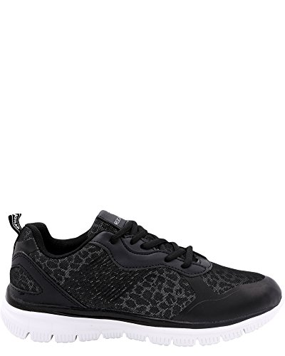 Kvinna Run-04 Sneakers Svart