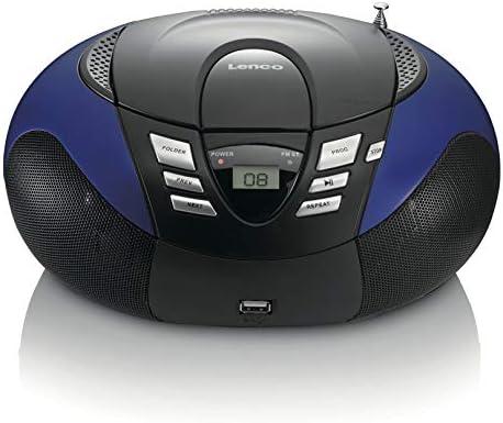 Lenco SCD-37USB Color azul R portátil con USB
