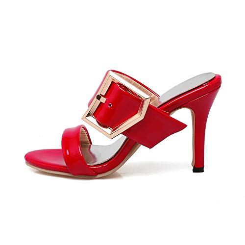 Aimint Ballerine 35 EYR00340 Rosso Red Donna rzr4q