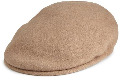 Kangol 504 Wool Cap Hat (Kangol  Men's Wool 504 Cap,Camel,Small)