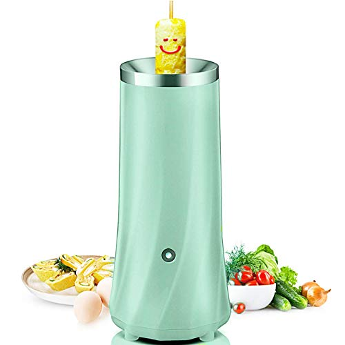 Glomixs Automatic Multifunctional Egg Roll Maker Electric Egg Boiler Omelette Breakfast Tool,Voltage:11V- 220V,Power:90W,Size: 75 x 210mm,Material:Stainless Steel+ABS,1 Set x Egg Roll Maker Tools by Glomixs