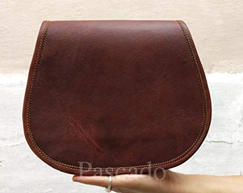 c800090290f0 Pascado Small Handmade Vintage leather crossbody shoulder satchel purse bag  for women