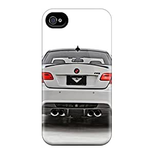 Premium Durable Bmw Fashion Tpu Iphone 4/4s Protective Case Cover