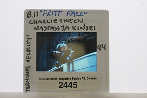 Slides photo of A scene of Carlos Irwin Est233;vez and Nastassja Aglaia Kinski from the 1994 action film