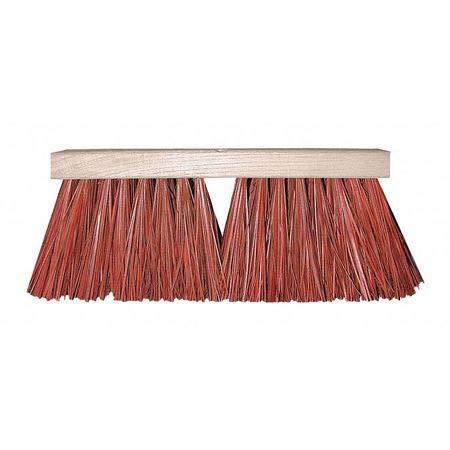 16' Street Broom - Street Broom, Hvy Dty, Dyed Palmyra, 16'