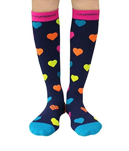 Hearts Travel Socks
