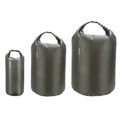 (3 Pack) TRINKA Waterproof Dry Bag 8L, 40L, 70L, Roll Top Sack for Beach, Kayak, Fishing, Camping
