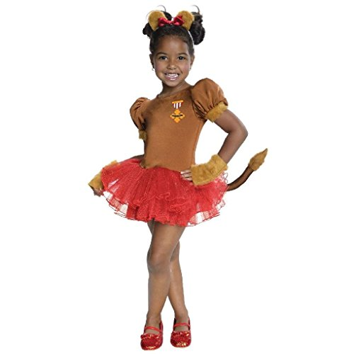 Ponce Girls Wizard of Oz Cowardly Lion Costume Tutu Dress Kids Lioness (Cowardly Lion Costume Plus Size)