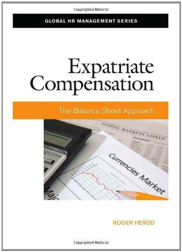 Expatriate Compensation: The Balance Sheet Approach (Global HR Management Series)