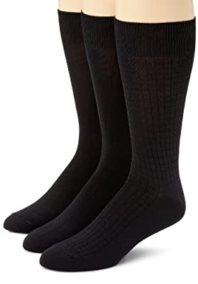 Calvin Klein Men's 3 Pack Microfiber Assorted Pack Socks