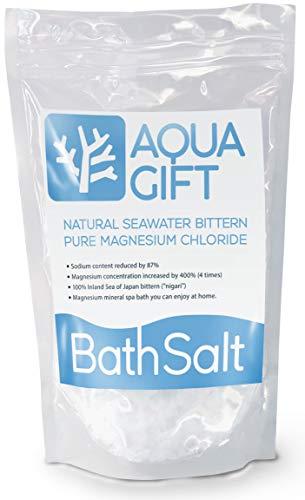 입욕 제 버스 솔트 AQUA GIFT 국산 마그네슘 보습 목욕용 화장품 30분 계량 스푼부