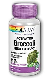 Solaray - Extracto de semilla de brócoli activado 350 mg - 30Capsule(s) vegetal
