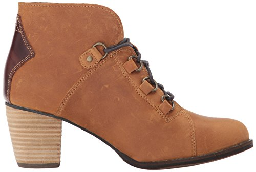 Leather Fashion Toe Almond Caterpillar Tater Womens Arbor Tan Ankle Boots qZxpZPEnWw