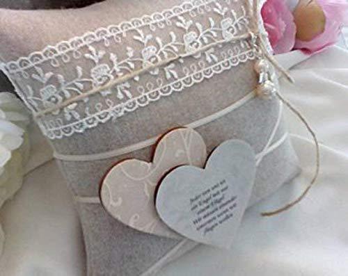 Ringkissen Ringtragerkissen Vintage Fur Die Eheringe Ringe Kissen