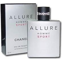 C h a n e l Allure Homme Sport 3.4 oz / 100 ml EDT Spray Men New In Box Sealed