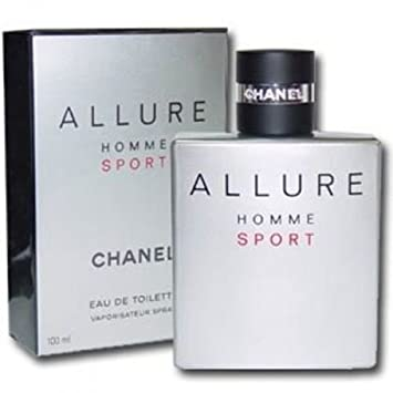 C h a n e l Allure Homme Sport 3.4 oz   100 ml EDT Spray Men New In Box  Sealed 283bfb8710c