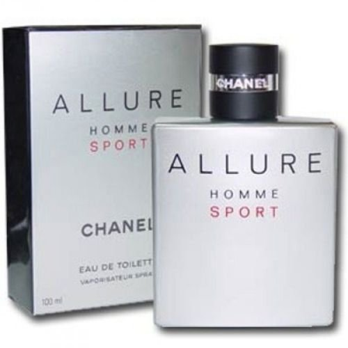 (C h a n e l Allure Homme Sport 3.4 oz / 100 ml EDT Spray Men New In Box Sealed )