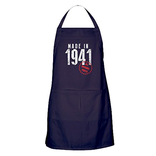 CafePress - Made In 1941, All Original Parts - Kitchen Apron with Pockets, Grilling Apron, Baking Apron