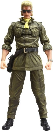 Square Enix Metal Gear Solid Peace Walker Play Arts Kai Miller Action Figure