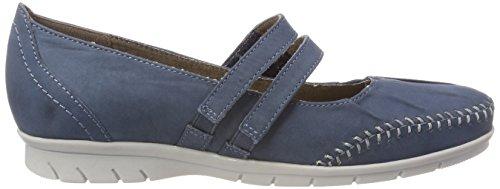 Jana 24611, Escarpins Femme Bleu (Jeans)
