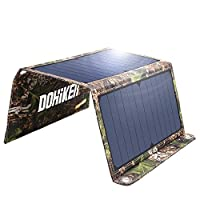 Dohiker 27W Solar Charger, Portable Sola...