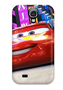 Faddish Phone Lightning Mcqueen In Cars 2 Case For Galaxy S4 / Perfect Case Cover
