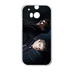 HTC One M8 White Sherlock phone cases protectivefashion cell phone cases HYQT5780860