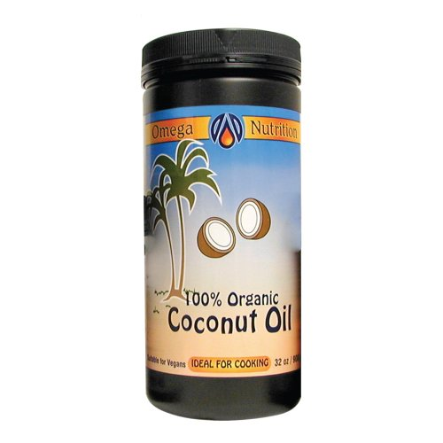 Omega Nutrition huile de coco,