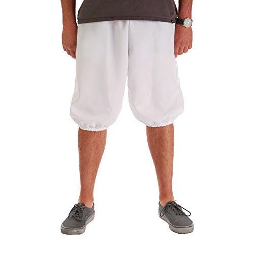 Men's Knicker Pants White (Large/XL) ()