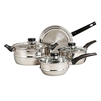 Sunbeam Ridgeline7-pc. Cookware Set (Stainless Steel)