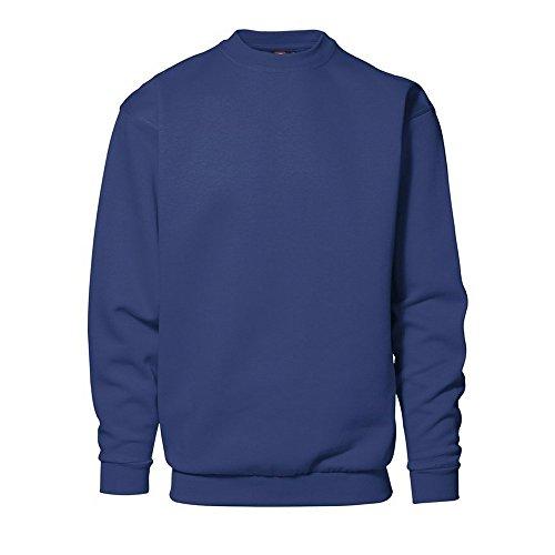 Klassisches Herren Sweatshirt von ID (M, Weiss)
