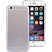 iphone6s Plus, 5.5inch 1PC Ultra Thin 0.3mm Clear Crystal Rubber Silicone Soft Cover