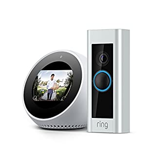 Ring Video Doorbell Pro + Echo Spot (White)