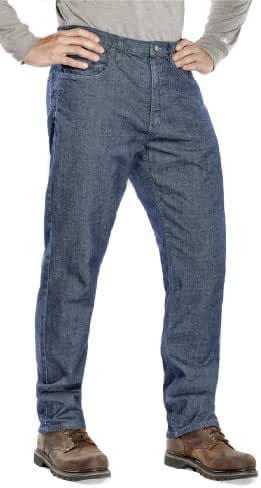 Benchmark Men's Flame Resistant Relaxed Fit American Denim Jeans, HRC 2