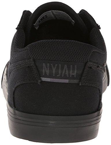 Dc Mens Nyjah Vulcanized Tx Sneaker Nero / Nero / Nero
