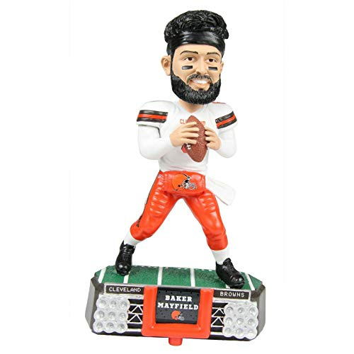 FOCO Baker Mayfield Cleveland Browns Stadium Lights BOBBLEHEAD