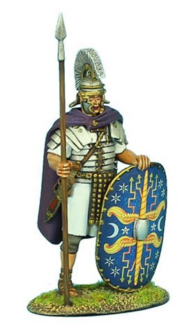 First Legion ROM048 Imperial Roman Praetorian Guard Standing in Cloak