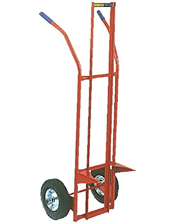 Wesco Industrial Products 240042 PT Pail Truck, Semi-Pneumatic Wheels, 500 lb.