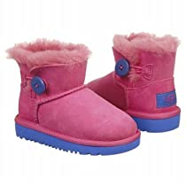Ugg Girls Mini Bailey Button Boots