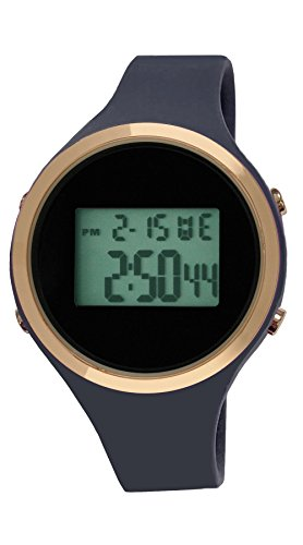 Moulin Ladies Digital Jelly Watch Sailor Blue #03158-76178