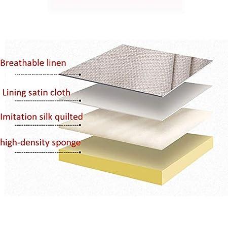 Lavabile Color : Chocolate, Size : 90x50cm KDAB Testiera Imbottita Tinta Unita Cuscini Riempimento di Spugna Facile da Smontare