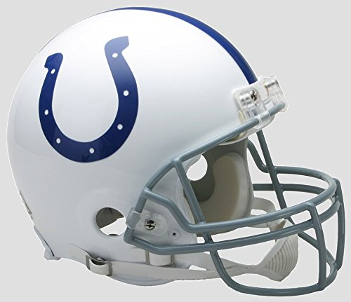(Riddell NFL Indianapolis Colts Authentic Proline Full Size Helmet, Medium, Blue)