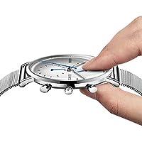Olves Men's Fashion Waterproof Quartz Watch with Date Window Luminous Analog Display