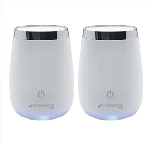 Spa Ultrasonic Aromatherapy Oil Diffuser 2-pack