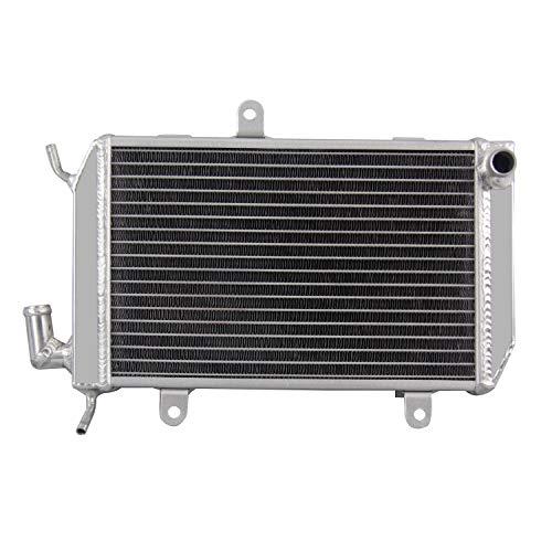 CoolingCare Left Aluminum Radiator, 2 Row Core Radiator for Honda Goldwing 1800 GL1800 -