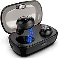 Bluetooth Kopfhörer Kabellos In Ear Sport Bluetooth 5.0 IPX5 Wasserfest True Wireless Earbuds Joggen Fitness Ohrhörer mit Mikrofon Ladebox MEHRWEG
