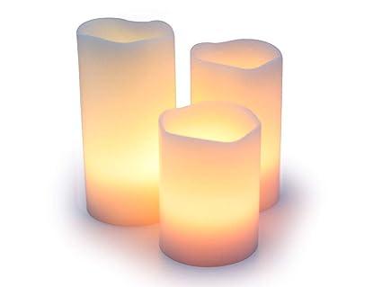 Fernbedienung Mit Farbanderung Aus Echtem Wachs Flammenlose Led