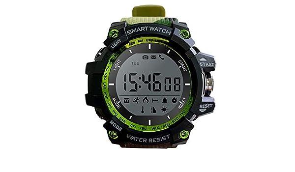 LEOTEC Reloj SMARTWATCH Camuflaje Mountain BT NOTIFICAC ...
